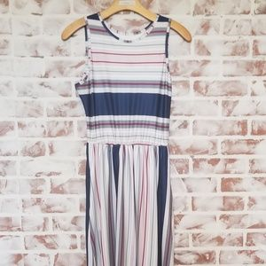 Dresses & Skirts - Multi Color Striped Maxi Dress